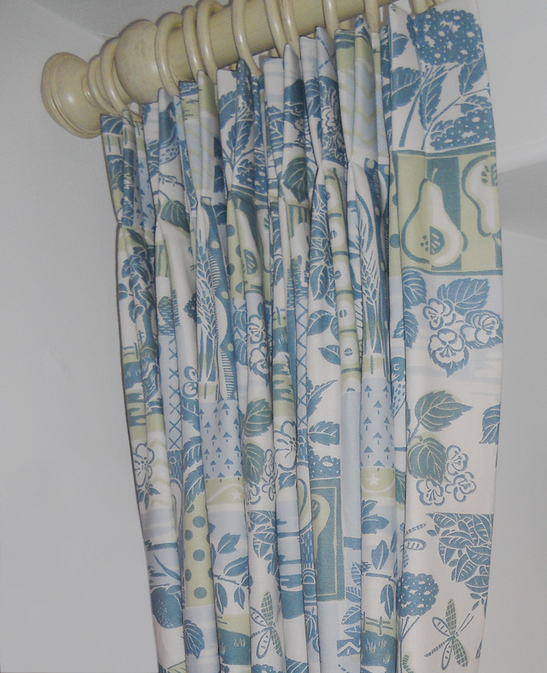 Curtains – with double pleat