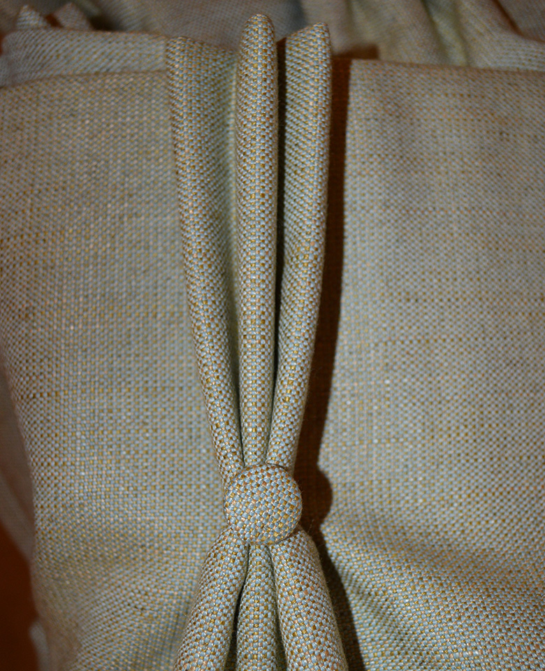 Curtains – with triple pleat heading