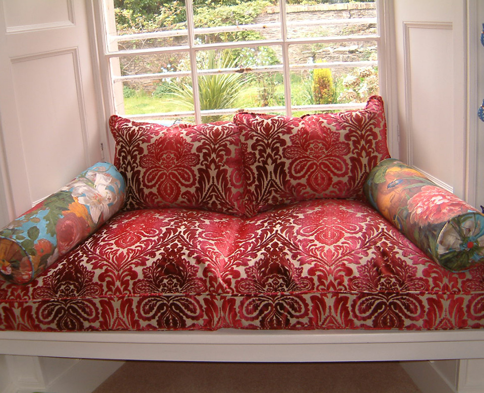 Cushions – for window seat